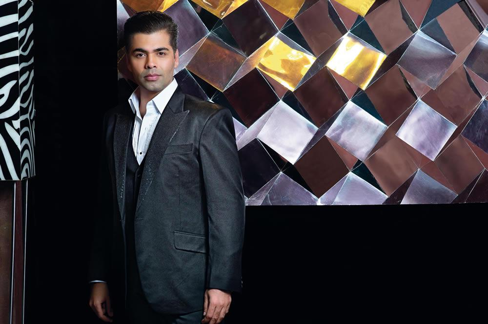 Karan Johar for Verve cover