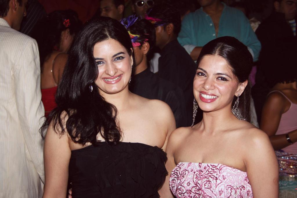 Sabaah Sheikh and Pushpanjali Chawla