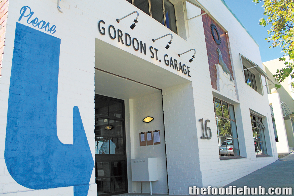 The entrance from Gordon Street West Perth