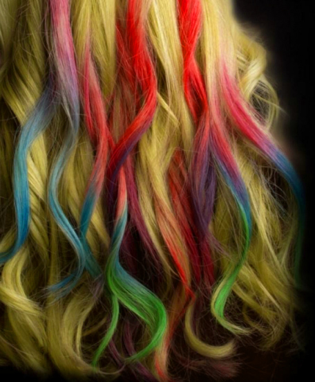 Hair Chalk: Multi-coloured hues for the boho chick