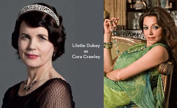 Downton Abbey India: Lilette Dubey as Cora Crawley