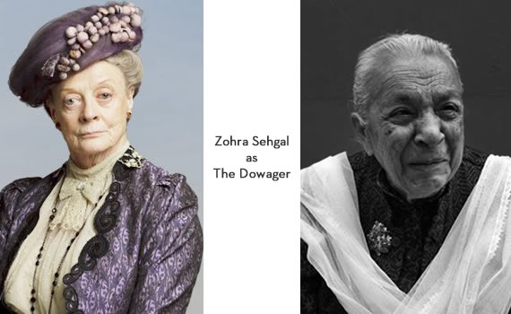 Downton Abbey India: Zohra Sehgal as The Dowager