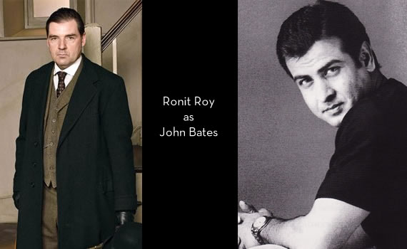 Downton Abbey India: Ronit Roy as John Bates