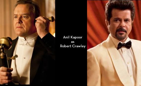 Downton Abbey India: Anil Kapoor as Robert Crawley