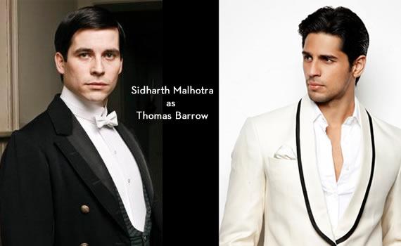 Downton Abbey India: Sidharth Malhotra as Thomas Barrow