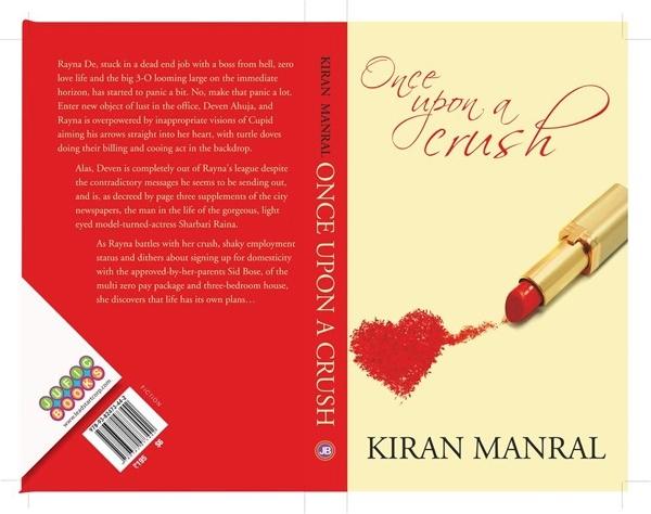 Kiran Manral's Once Upon A crush book jacket