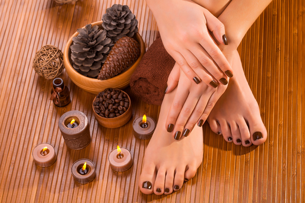 unqiue pedicures - mango, chocolate pedicure, icecream pedicure