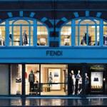 FENDI New Bond Street Boutique London FACADE
