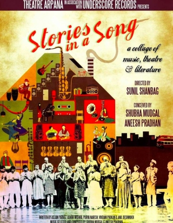 Stories in a Song, Sunil Shanbag, Melody Jigs Theatrics, Theatre, Music, Musical, Indian