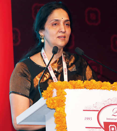 Power Chief of the NSE: Chitra Ramkrishna, Verve's Power List 2014