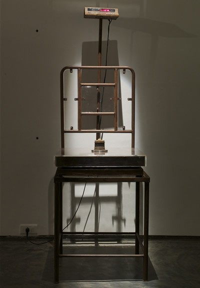 Mansoor Ali, Anatomy of a Chair, Weight of the Political Brain 2014