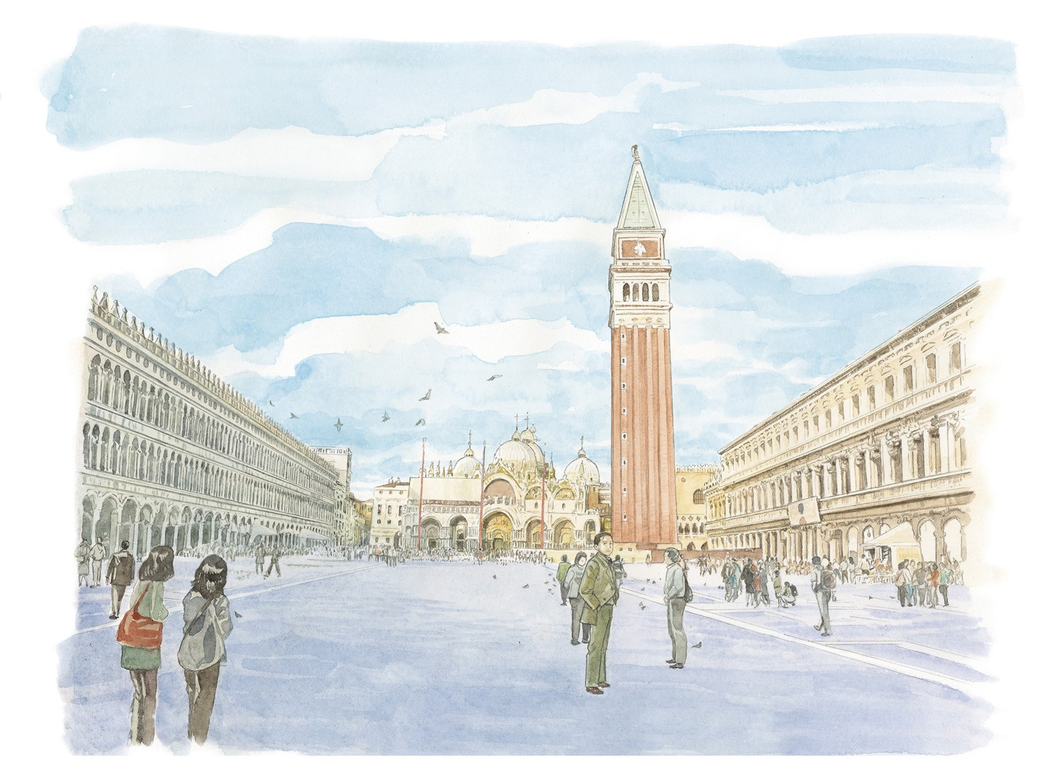 Louis Vuitton Travel Book Venice 2014, by Jiro Taniguchi