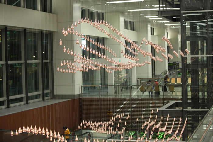 Changi Airport, Singapore, Terminal 1, Departure Hall