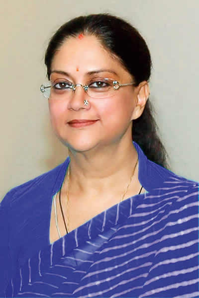 BJP, chief minister of Rajasthan, Vasundhara Raje - Verve's Power List 2014