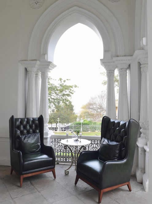 The Grand Trunk Show, Taj Khazana: Wing chairs in fine leather