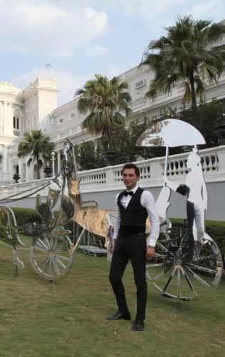 The Grand Trunk Show, Taj Khazana: Alexander Dolea who conducted the curated walk