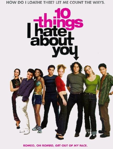 10 Things I Hate About You, William Shakespeare, Bardic Influence, The Taming of the Shrew