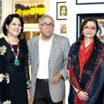Bina Aziz, Piali Syam, Y K Sapru, Rekha Sapru, Shobhaa De