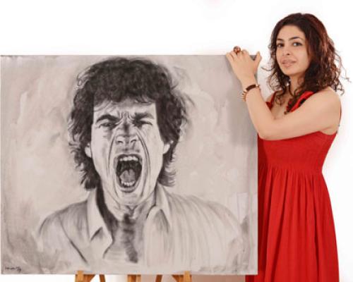 Nawaz Modi Singhania, Mick Jagger