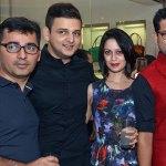 Gagan Kapoor, Raphael Mantosh, Oiendrilla Kapoor, Pranay Baidya