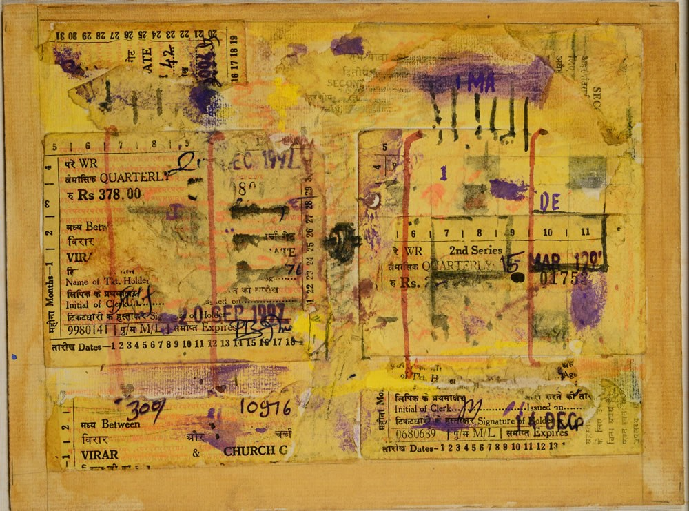 Madhav Imartey Moving Images Percept Art Gallery Mumbai