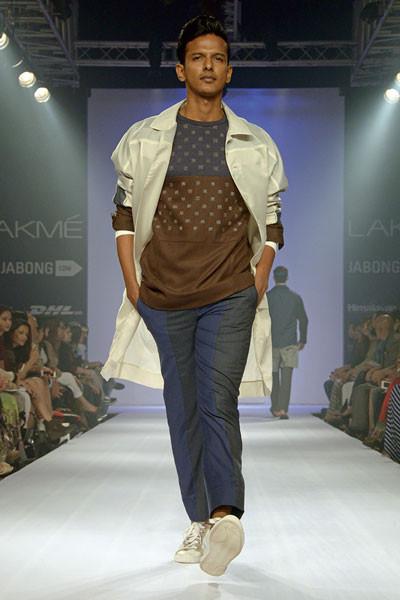 Anuj Bhutani, Lakme Fashion Week 2014