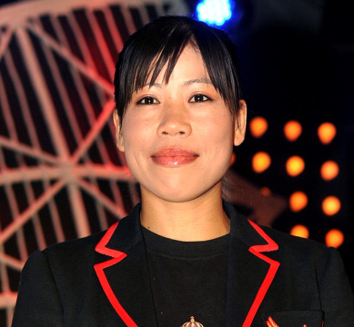Mary Kom power woman gold medalist Olympics