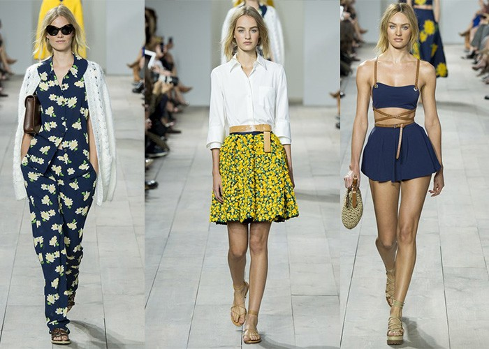 Michael Kors Spring Summer 2015 ready to wear new york fashion week 2