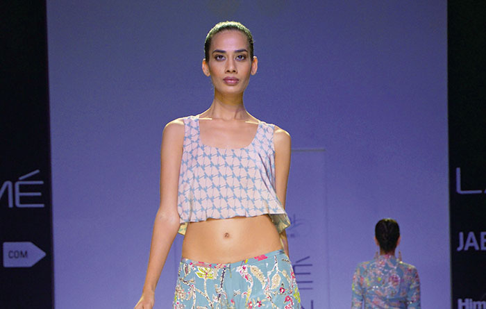 Payal Singhal, Lakme Fashion Week 2014
