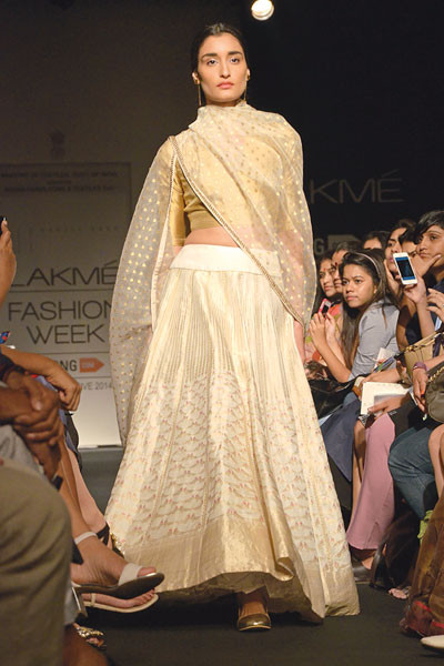 Sanjay Garg, Lakme Fashion Week 2014