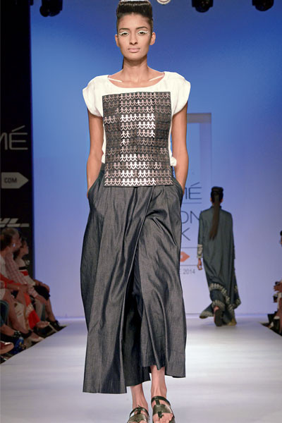 Shikha Grover and Vinita Adhikari, Lakme Fashion Week 2014