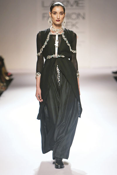 Suhani Pittie, Lakme Fashion Week 2014
