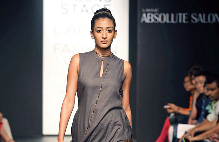 Ujjawal Dubey, Lakme Fashion Week 2014