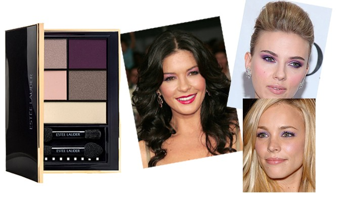 Currant Desire catherine zeta jones scarlett johannson estee lauder pure color envy eye shadow color palette caelebrity eyes make up
