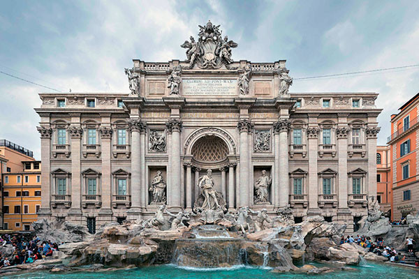 Trevi Fountain, Rome, Fendi