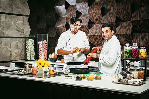 Chef Puneet Sethi and Chef Mukul Agrawa