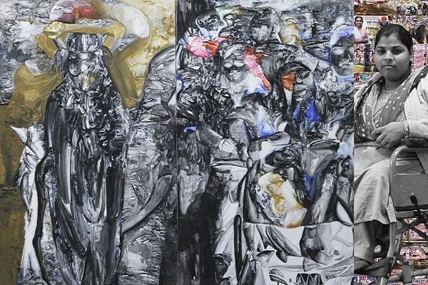 Untitled artwork by Probir Gupta
