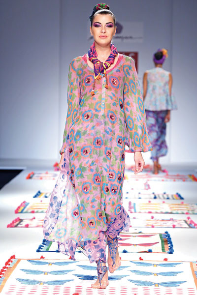 Anupamaa, Wills Lifestyle India Fashion Week Spring/Summer 2015