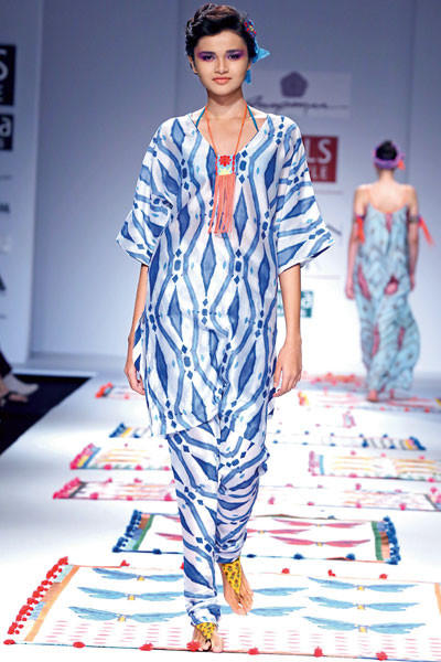 Anupamaa, Wills Lifestyle India Fashion Week Spring/Summer 2015