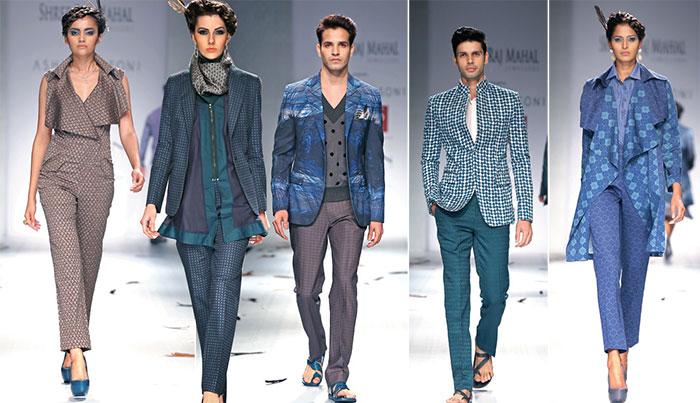 Ashish N Soni, Wills Lifestyle India Fashion Week Spring/Summer 2015