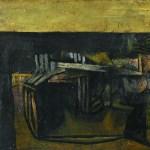 Flute Player, Oil on Canvas by KS Kulkarni