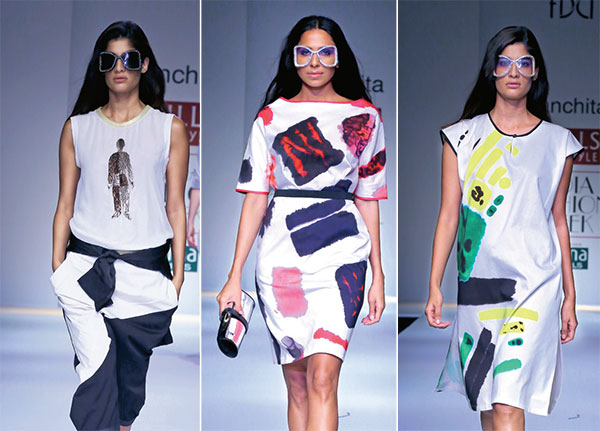 Sanchita, Wills Lifestyle India Fashion Week Spring/Summer 2015