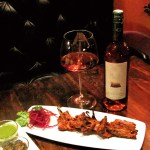 Wine, North Indian food