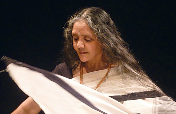 Daksha Sheth, Dancer and Choreographer, Sari