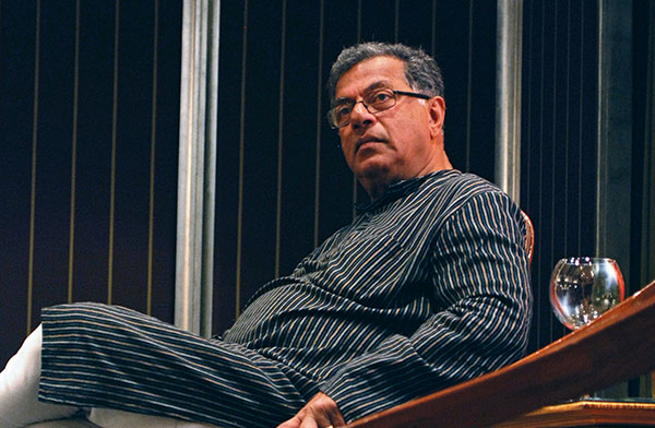 Girish Karnad, Playwright, Boiled Beans on Toast