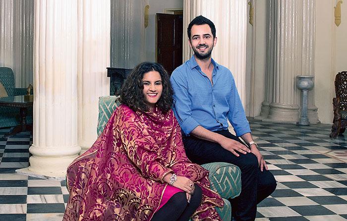 Princess Vaishnavi Kumari of Kishangarh and Kumar Saaheb Padmanabh Jadeja of Gondal