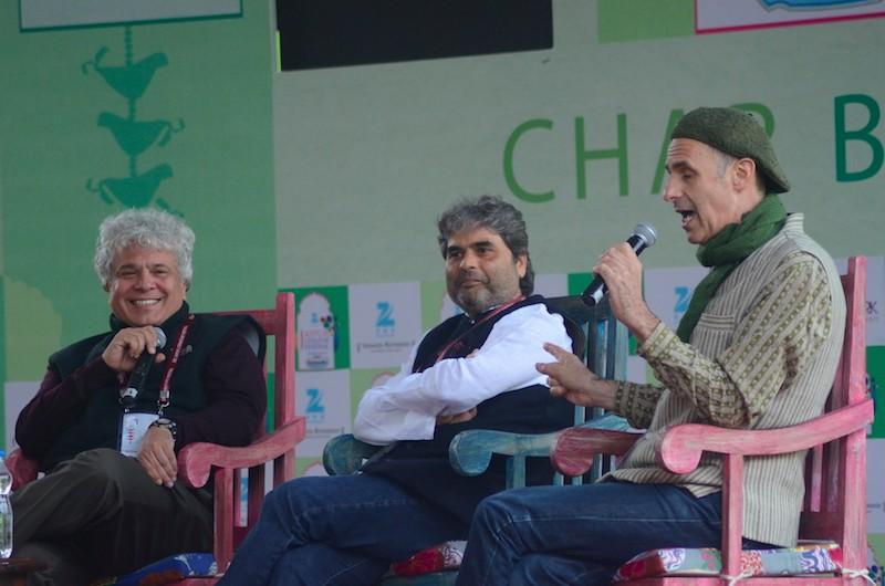 Suhel Seth, Vishal Bhardwaj and Tim Supple