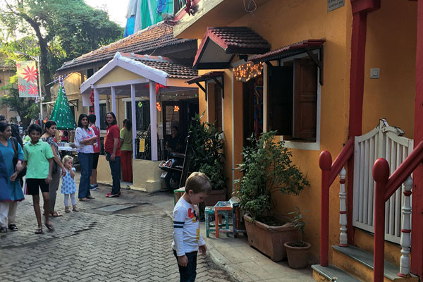 At the Khotachiwadi Christmas festival, Parmesh's Viewfinder