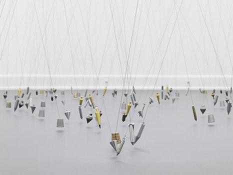 Tatiana Trouvé (Tokyo), 250 Points Towards Infinity, 2009