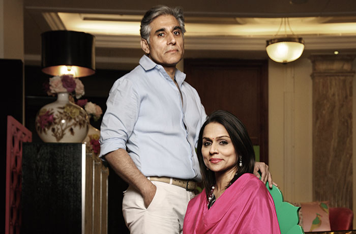 Raseel Gujral, Naveen Ansal, Indophile collection
